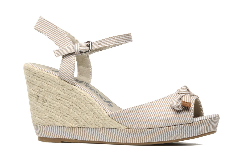 Sandales et nu-pieds Refresh CHOUNIK Beige vue derrière