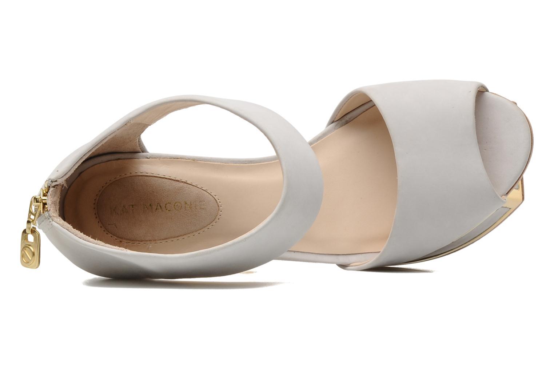 Sandales et nu-pieds Kat Maconie PEARL Gris vue gauche