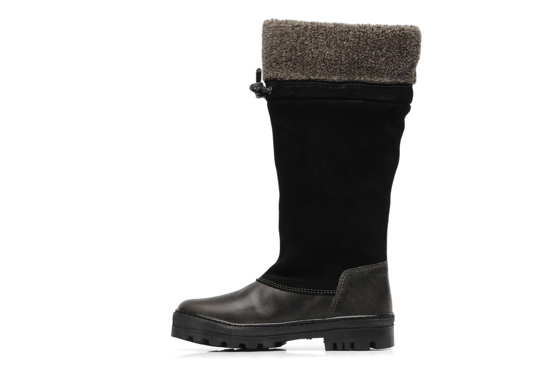 Bottes Peak performance York collar boot Noir vue face
