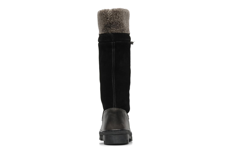 Bottes Peak performance York collar boot Noir vue droite