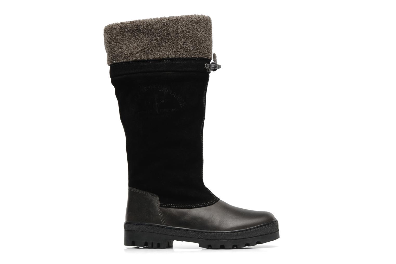 York collar boot Black