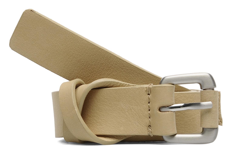 Belts Vanessa Bruno Athé Croisillon 2 Belt Beige detailed view/ Pair view