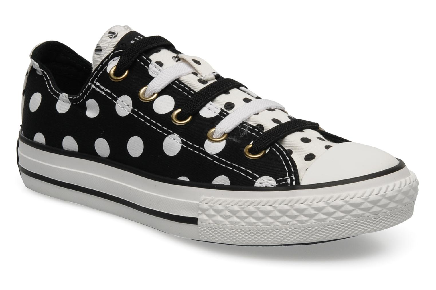 Baskets Converse Chuck Taylor Plk Stretch Canvas K Noir vue détail/paire