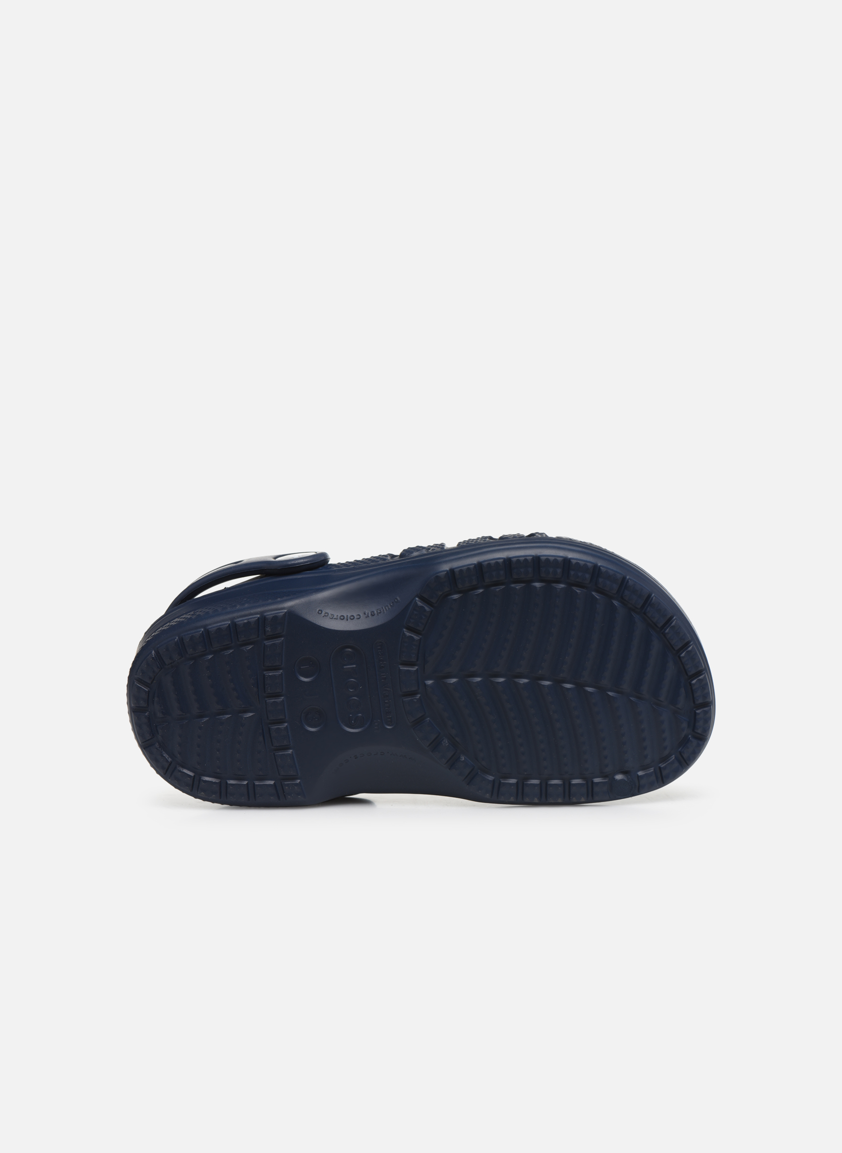 Sandalen Crocs Baya Kids blau ansicht von oben