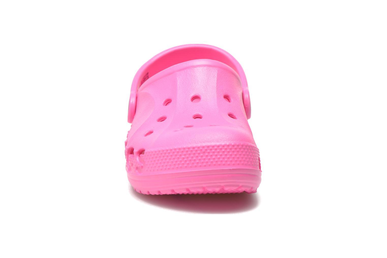 Sandalen Crocs Baya Kids rosa schuhe getragen