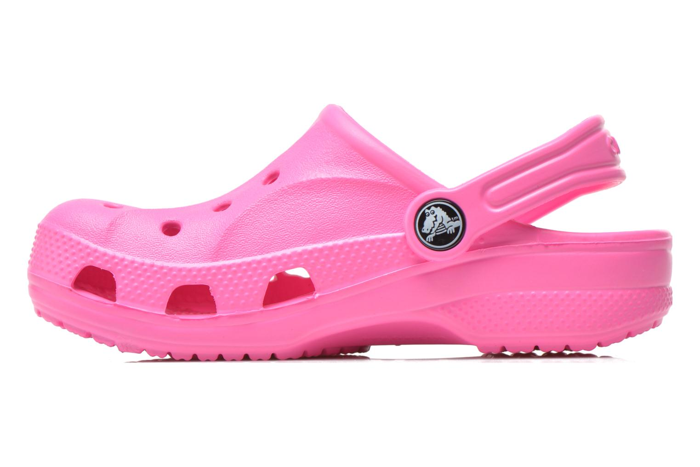 Sandalen Crocs Baya Kids rosa ansicht von vorne