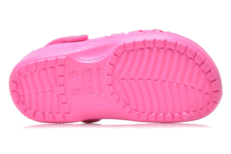 Sandalen Crocs Baya Kids rosa ansicht von oben