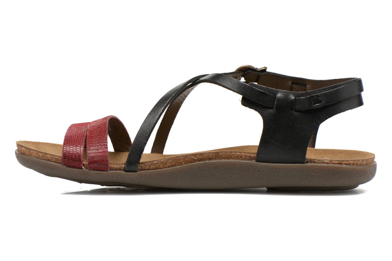 Sandales et nu-pieds Kickers Atomium Rouge vue face