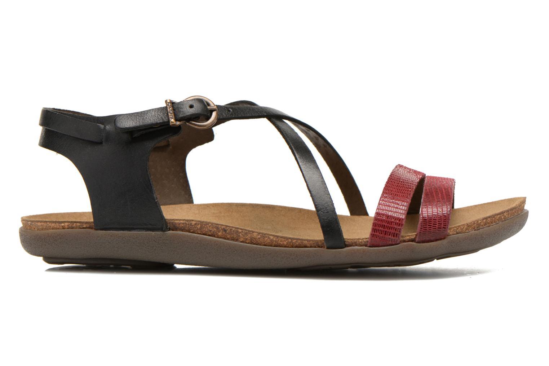 Sandalen Kickers Atomium Rood achterkant
