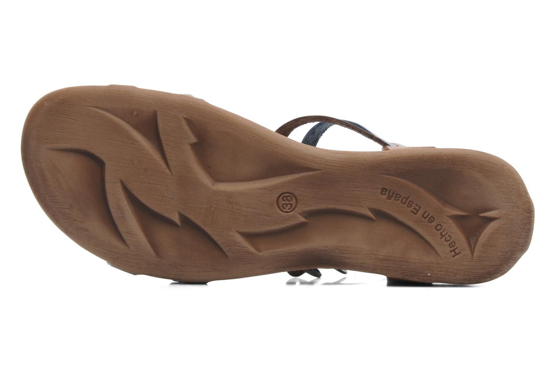 Sandales et nu-pieds Kickers Ana Multicolore vue haut