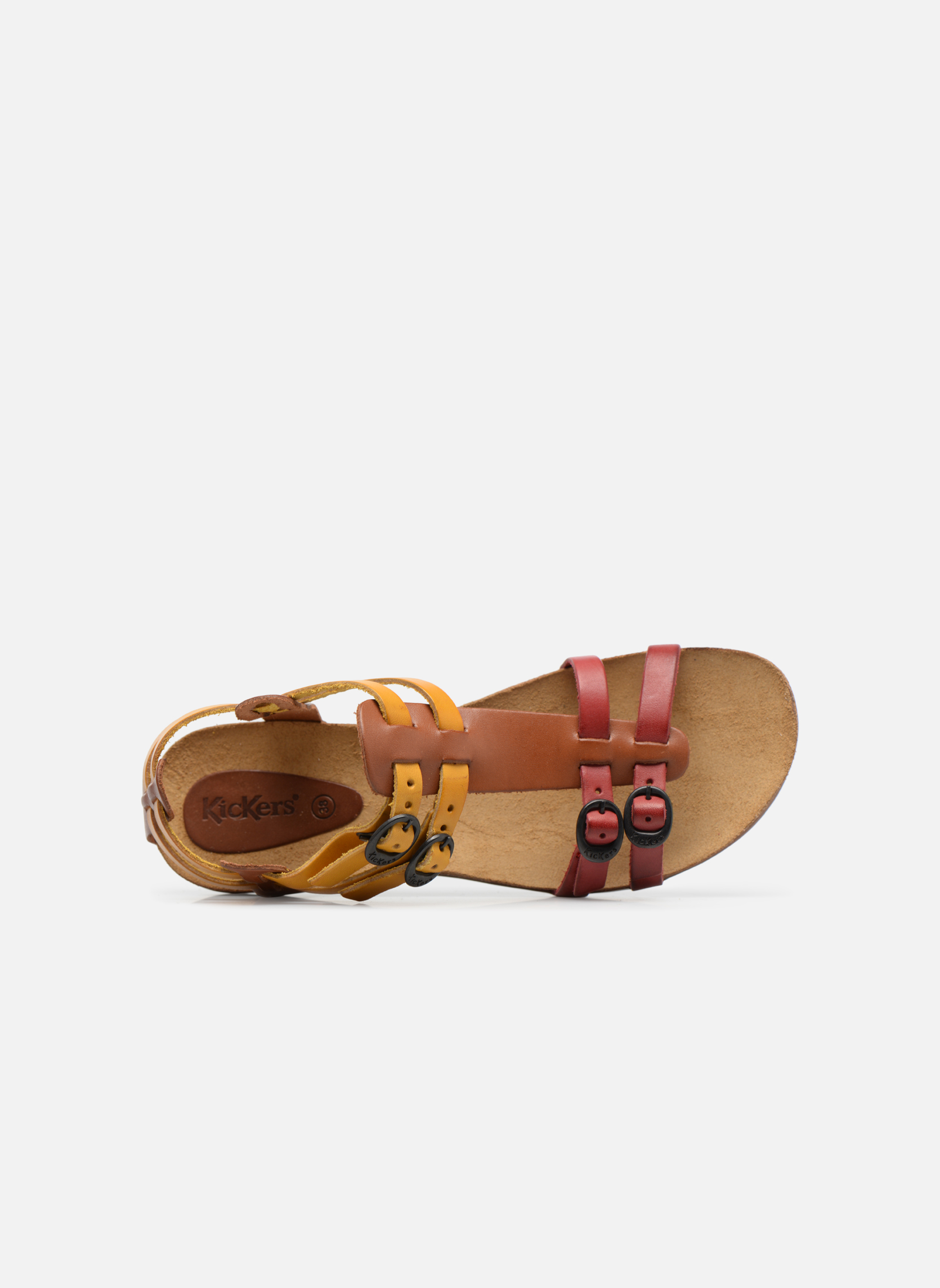 Ana Camel multicolore rouge 116