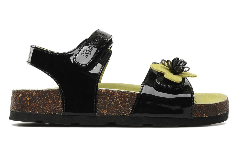 Sandalen Kickers MAGISUN Zwart achterkant