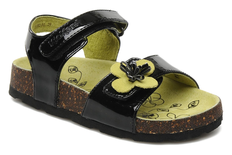 Sandalen Kickers MAGISUN Zwart detail