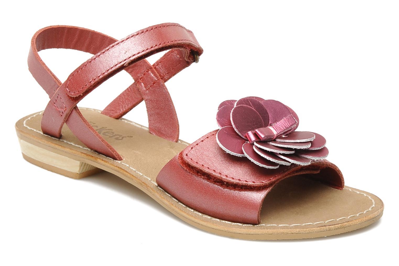 Sandales et nu-pieds Kickers IDOLE Rouge vue détail/paire
