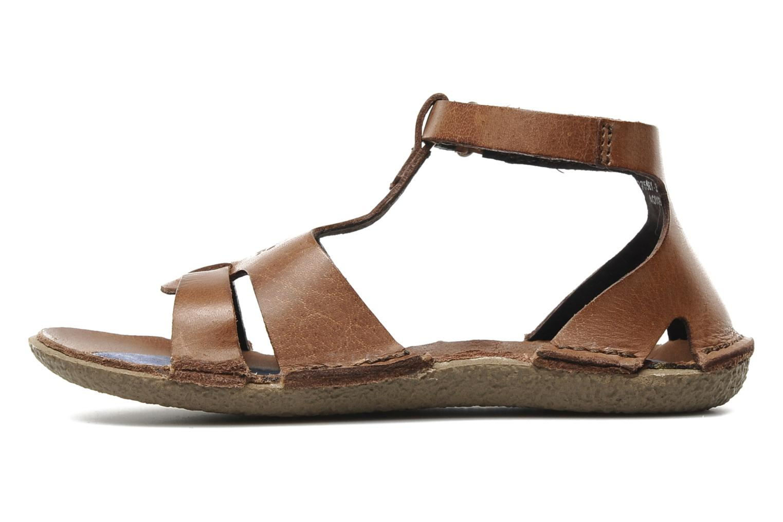Sandalen Kickers PREPPY V Bruin voorkant