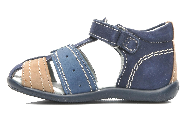 Sandales et nu-pieds Kickers BIGBAZAR Bleu vue face