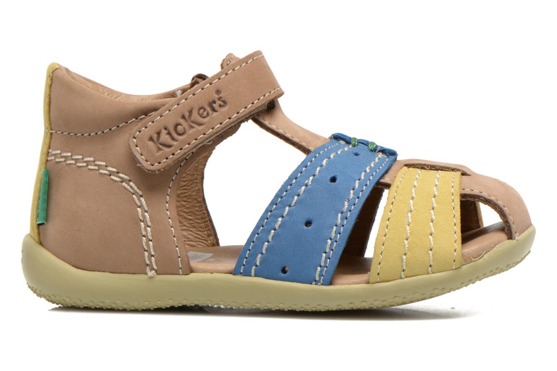 Sandalen Kickers BIGBAZAR Beige achterkant