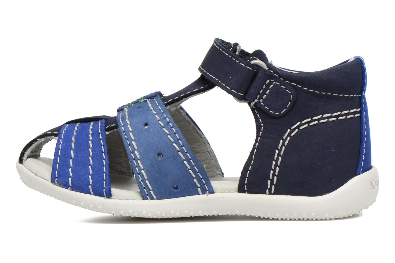 Sandali e scarpe aperte Kickers BIGBAZAR Azzurro immagine frontale