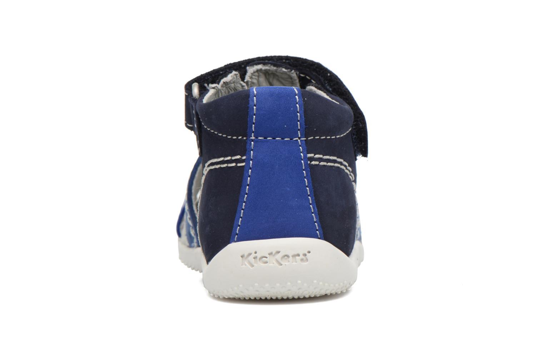 Sandali e scarpe aperte Kickers BIGBAZAR Azzurro immagine destra