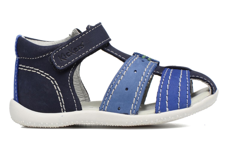 Sandali e scarpe aperte Kickers BIGBAZAR Azzurro immagine posteriore