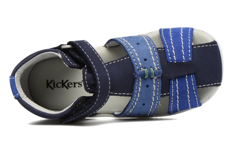 Sandali e scarpe aperte Kickers BIGBAZAR Azzurro immagine sinistra