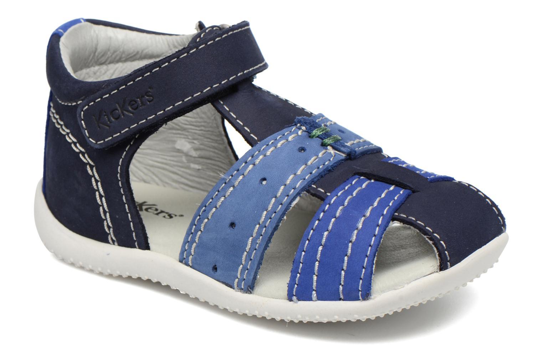 Sandalen Kickers BIGBAZAR Blauw detail