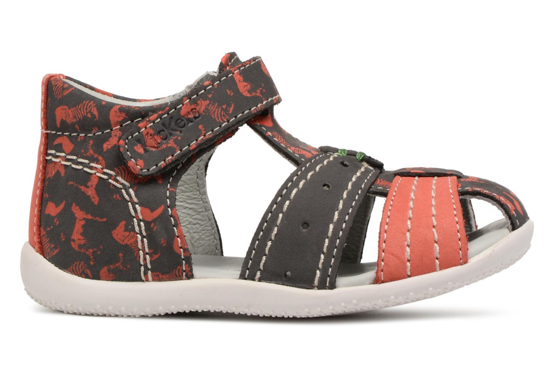 Sandalen Kickers BIGBAZAR Grijs achterkant