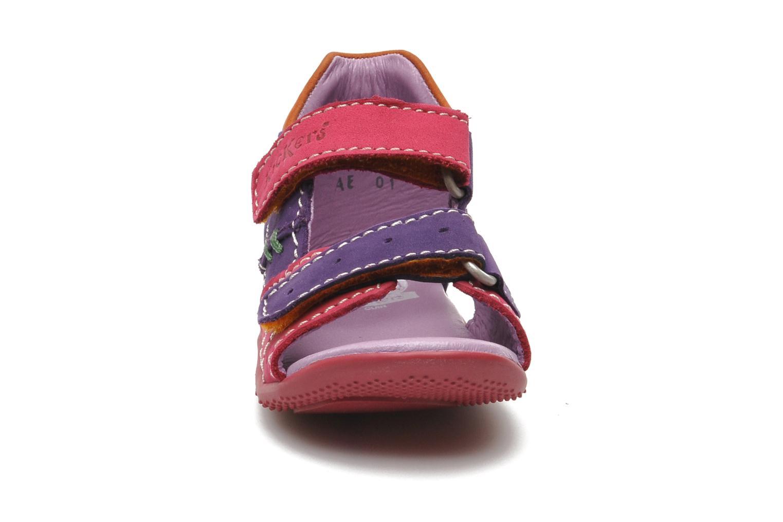 Sandales et nu-pieds Kickers BOPING Multicolore vue portées chaussures