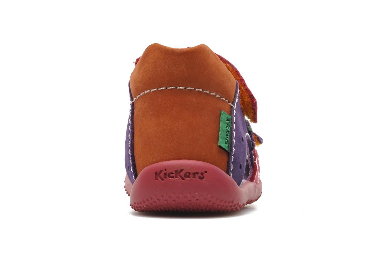 Sandales et nu-pieds Kickers BOPING Multicolore vue droite