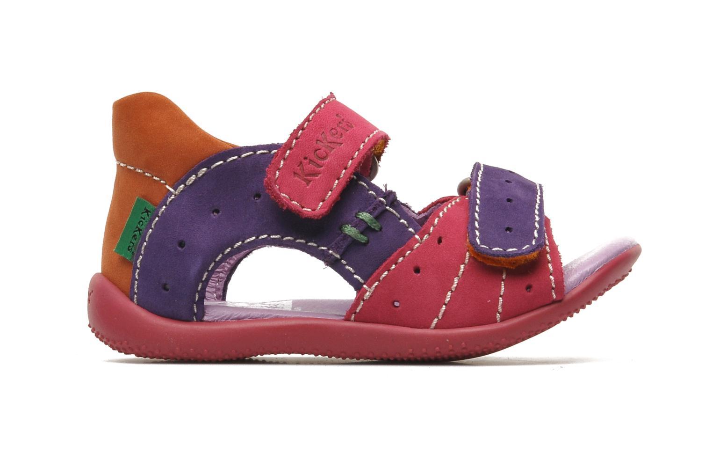 Sandales et nu-pieds Kickers BOPING Multicolore vue derrière
