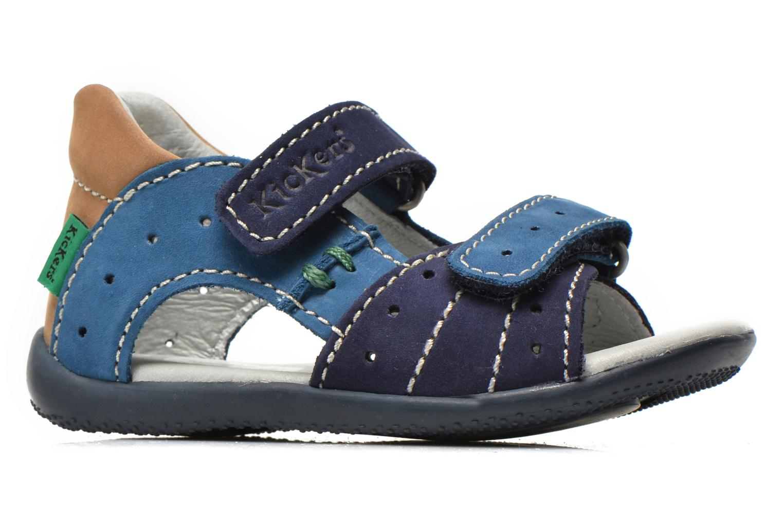 Sandalen Kickers BOPING Blauw achterkant