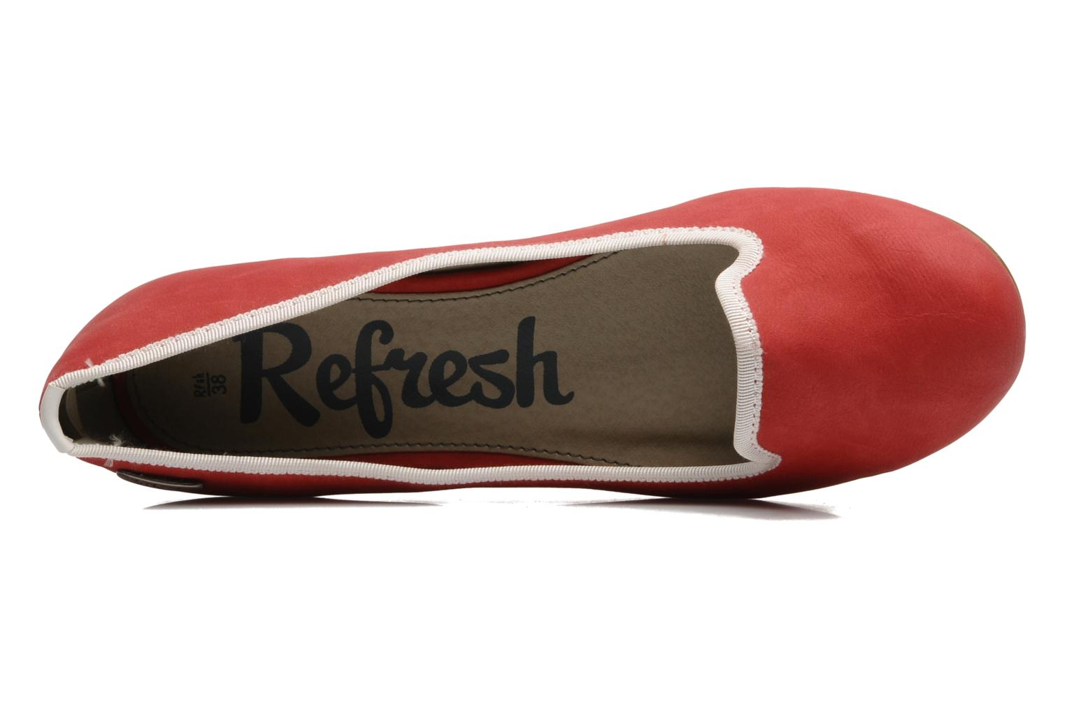 Slipper Refresh CLIPSO rot ansicht von links