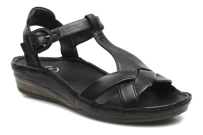 Sandales et nu-pieds Karston Iris Noir vue détail/paire