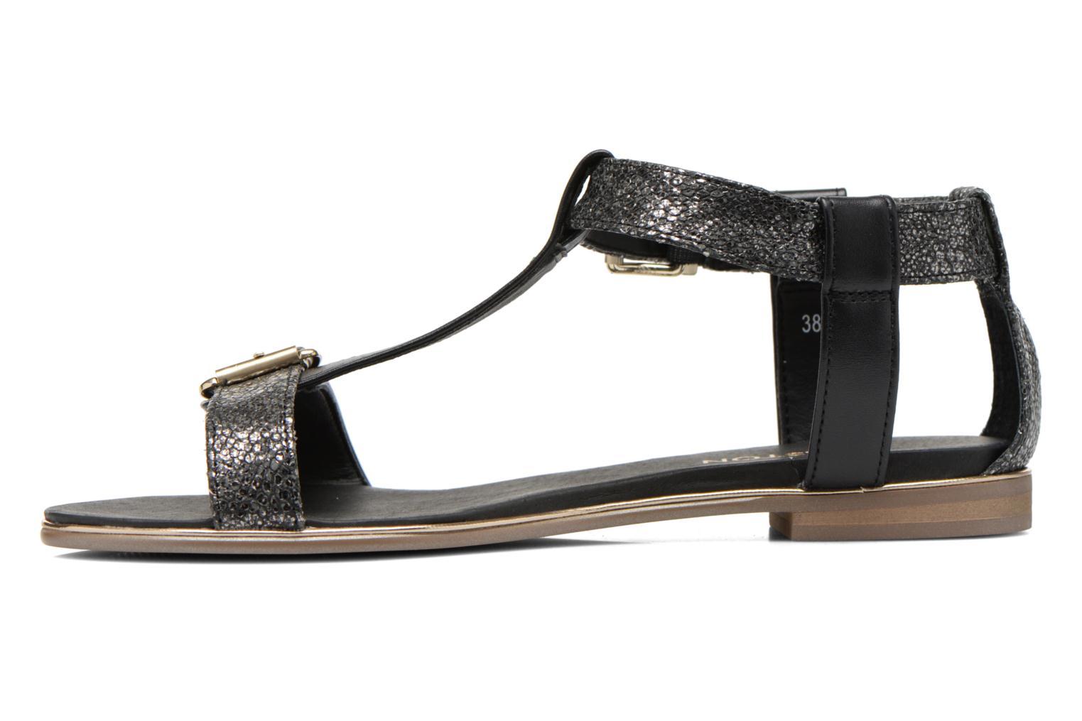 Sandales et nu-pieds Karston Sobel Noir vue face