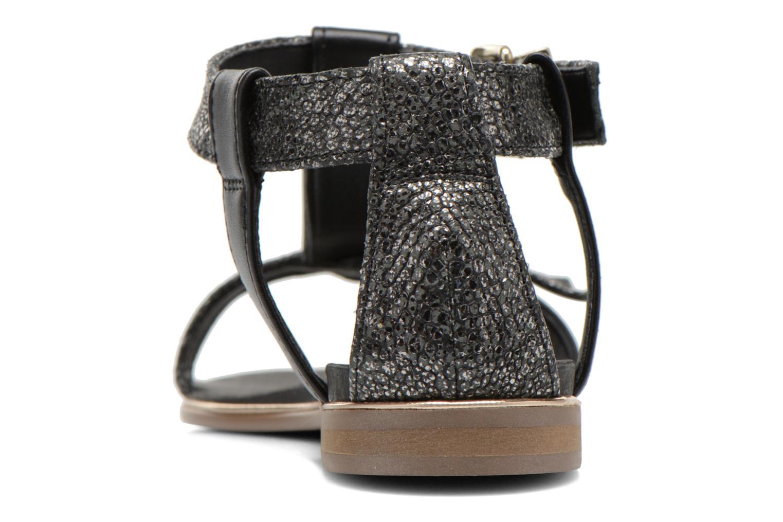 Sandales et nu-pieds Karston Sobel Noir vue droite