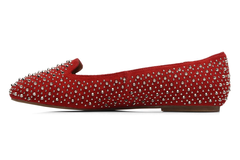 Loafers Jeffrey Campbell Martini SP Röd bild från framsidan