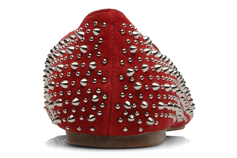 Loafers Jeffrey Campbell Martini SP Röd Bild från höger sidan