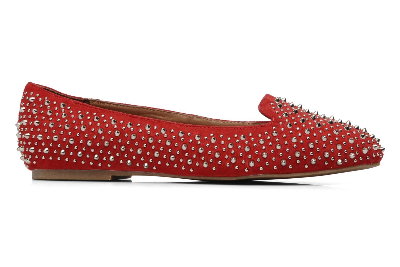 Loafers Jeffrey Campbell Martini SP Röd bild från baksidan
