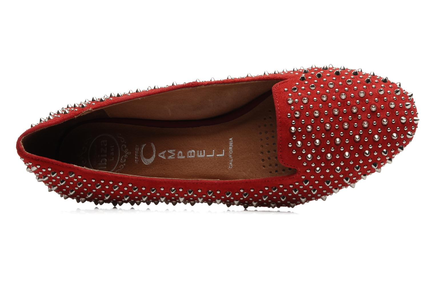 Slipper Jeffrey Campbell Martini SP rot ansicht von links