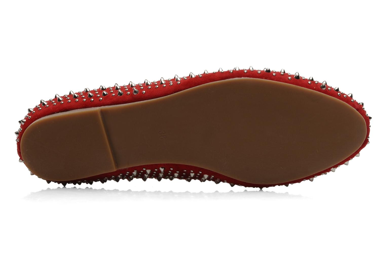 Loafers Jeffrey Campbell Martini SP Röd bild från ovan