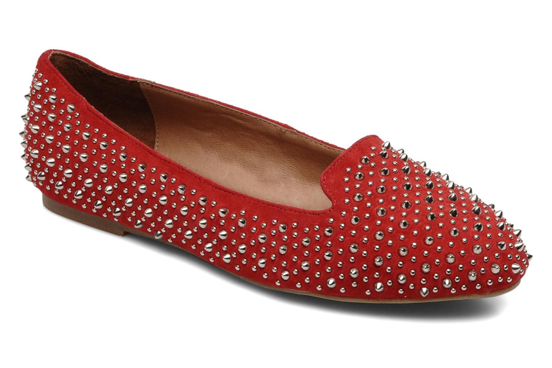 Loafers Jeffrey Campbell Martini SP Röd detaljerad bild på paret