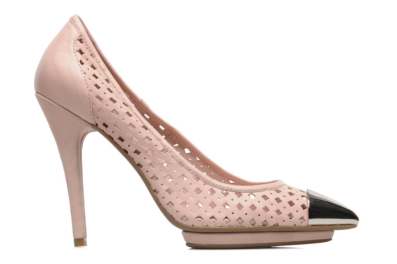 Zapatos de tacón Jeffrey Campbell Bullet PNC Rosa vistra trasera