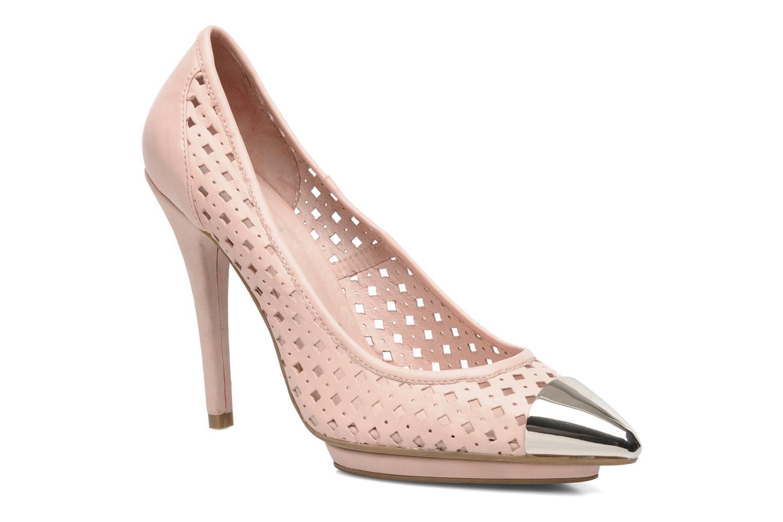Zapatos de tacón Jeffrey Campbell Bullet PNC Rosa vista de detalle / par