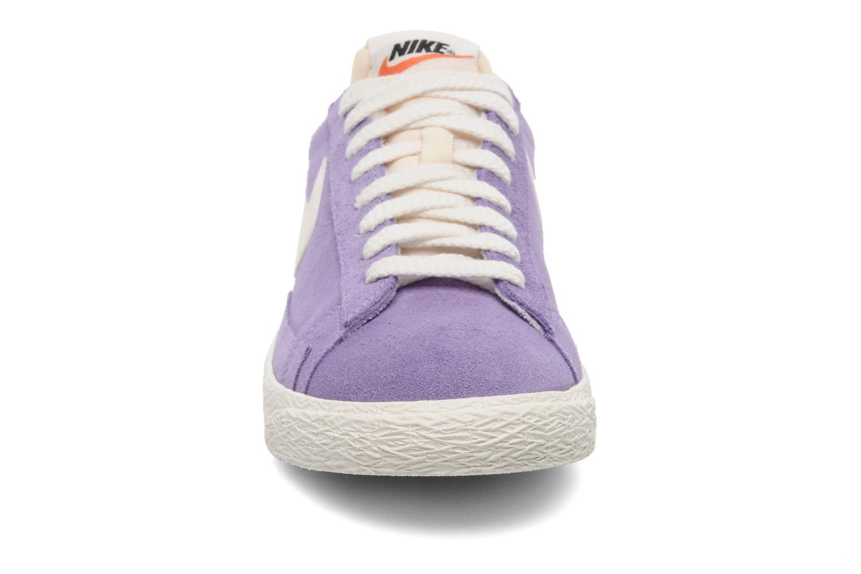 Trainers Nike Wmns Blazer Low Suede Vintage Purple model view