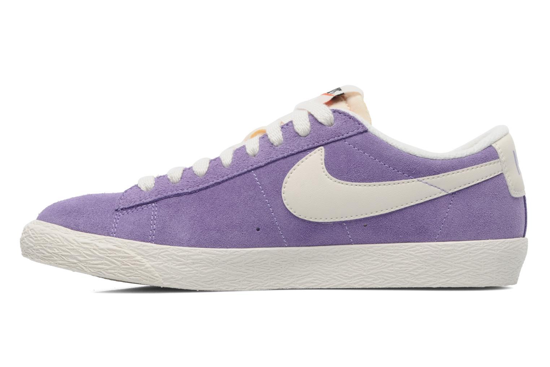 Sneakers Nike Wmns Blazer Low Suede Vintage Paars voorkant
