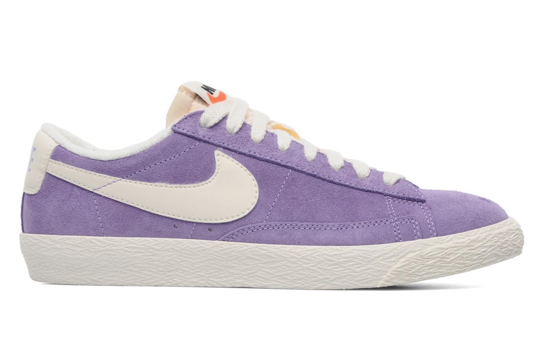 Sneakers Nike Wmns Blazer Low Suede Vintage Paars achterkant