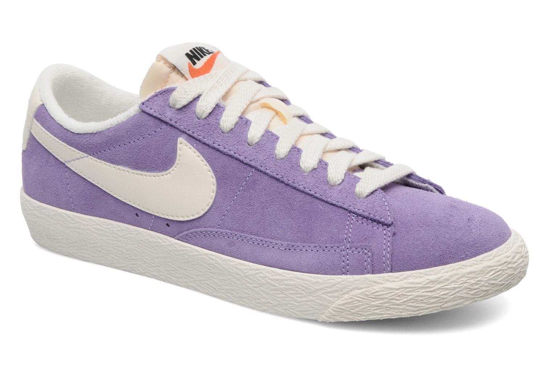 Sneakers Nike Wmns Blazer Low Suede Vintage Paars detail