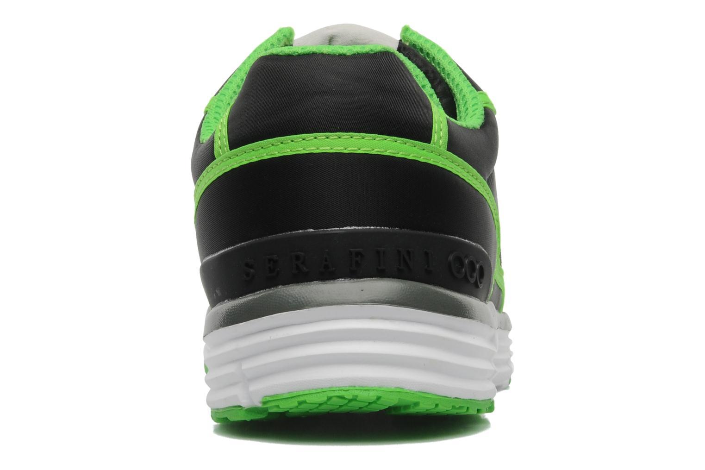 Baskets Serafini Neon 740 Noir vue droite
