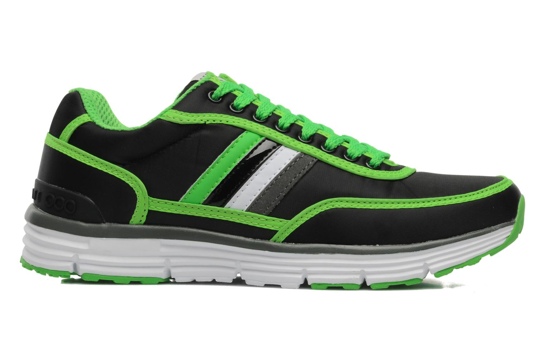 Sneakers Serafini Neon 740 Zwart achterkant