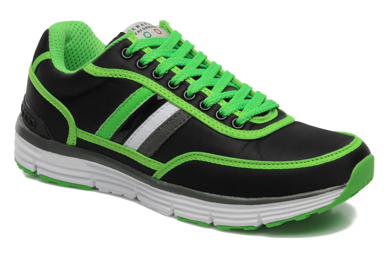 Sneakers Serafini Neon 740 Zwart detail